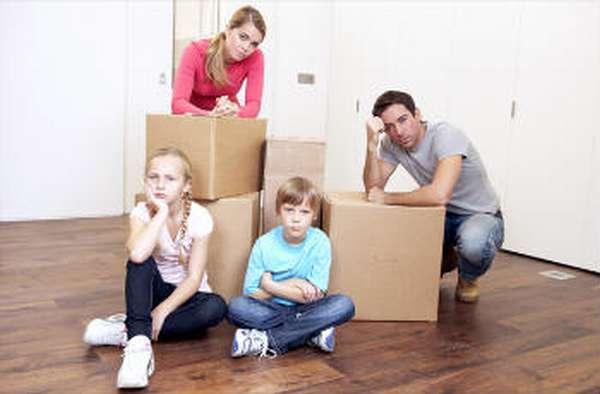 Раздел имущества при разводе, если есть дети