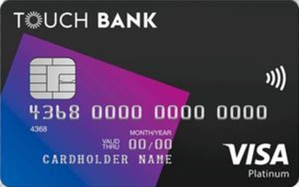 кредитка тач банк