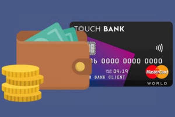 Дебетовая карта Touch Bank