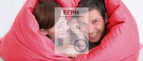 Как выглядит выписка из ЕГРН на совместную собственность
