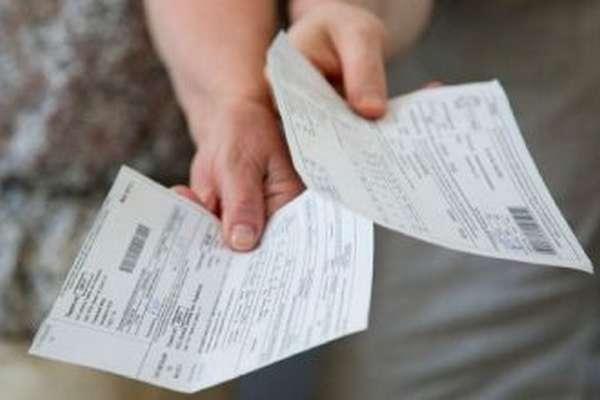 Разделение лицевых счетов с задолженностью