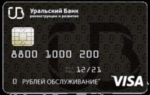кредитка УбрИр
